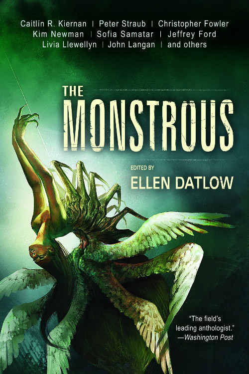 The Monstrous Final Cover